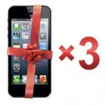 Дарим три iPhone 5 вместе с Озоном