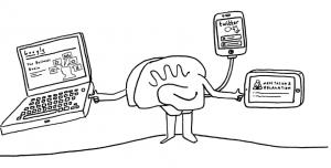 мозг и комп