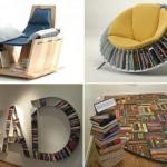 Интересные предметы интерьера для настоящих книголюбов