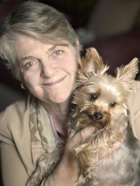 BarbaraSherBy с собачкой