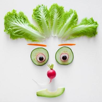 симпатичный овощ