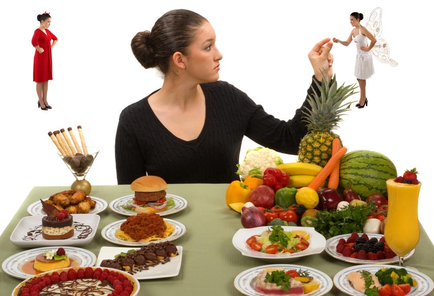 выбор здоровой еды