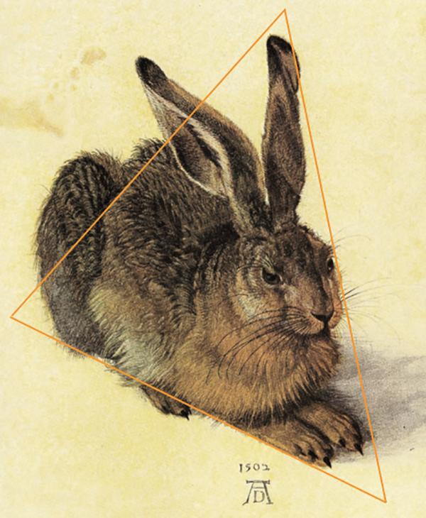 Простые линии помогают ориентироваться в рисунке, соблюдать пропорции, видеть и передавать гармонию.