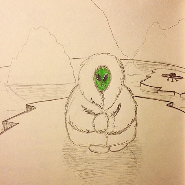Инопланетянин-эскимос