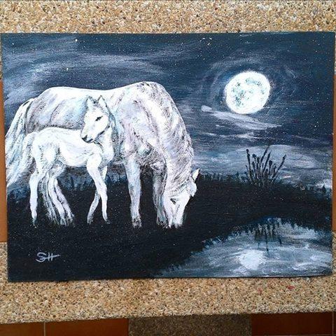 Лунные лошадки
