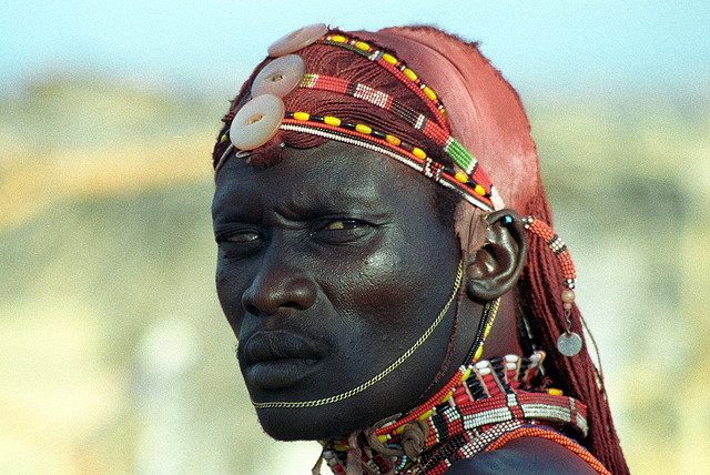 кенийский вождь