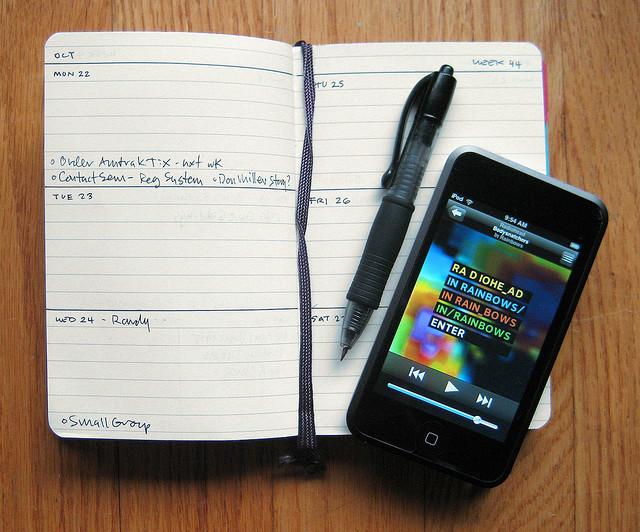 Ключ к успешному планированию — составление списка до проверки электронной почты. Лучше послушайте музыку. Источник.