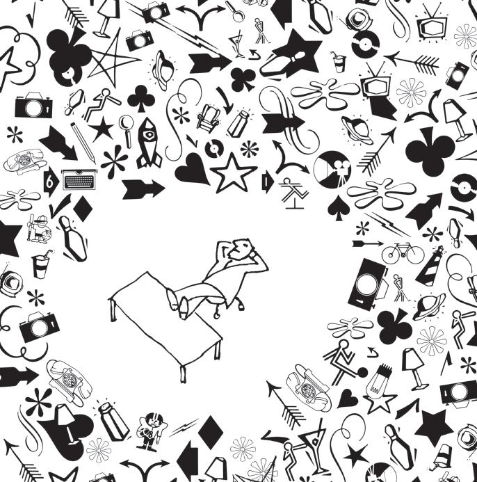 Творческий беспорядок. Иллюстрация из книги «Нарушай правила!»