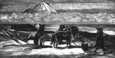 «Моя упряжка», — иллюстрация из книги.