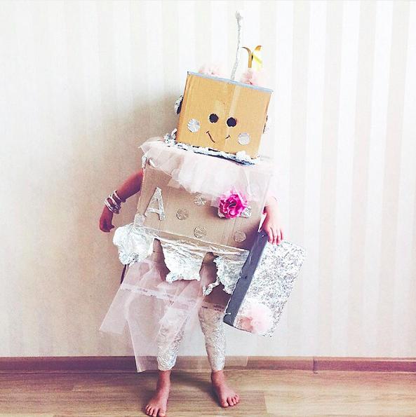 Принцесса роботов Алиса. Кажется, ничего милее мы еще не видели. Алиса прекрасна! Автор — lyaskalomaria источник