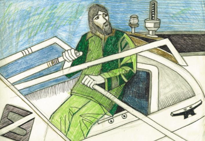 Иллюстрация из книги «Мои путешествия. Следующие 10 лет»