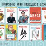ТОП-50 самых популярных книг нашего издательства