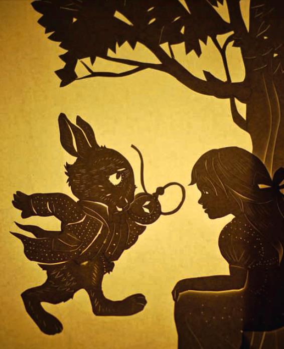 Иллюстрация в стиле «Ваянг»— индонезийского театра теней