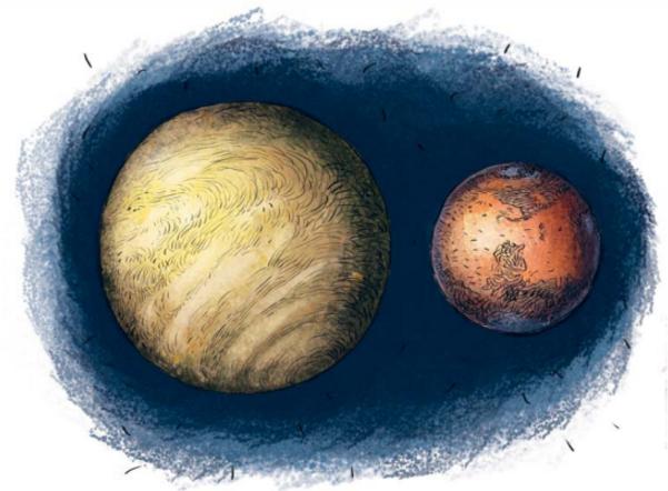 Марс — красная планета
