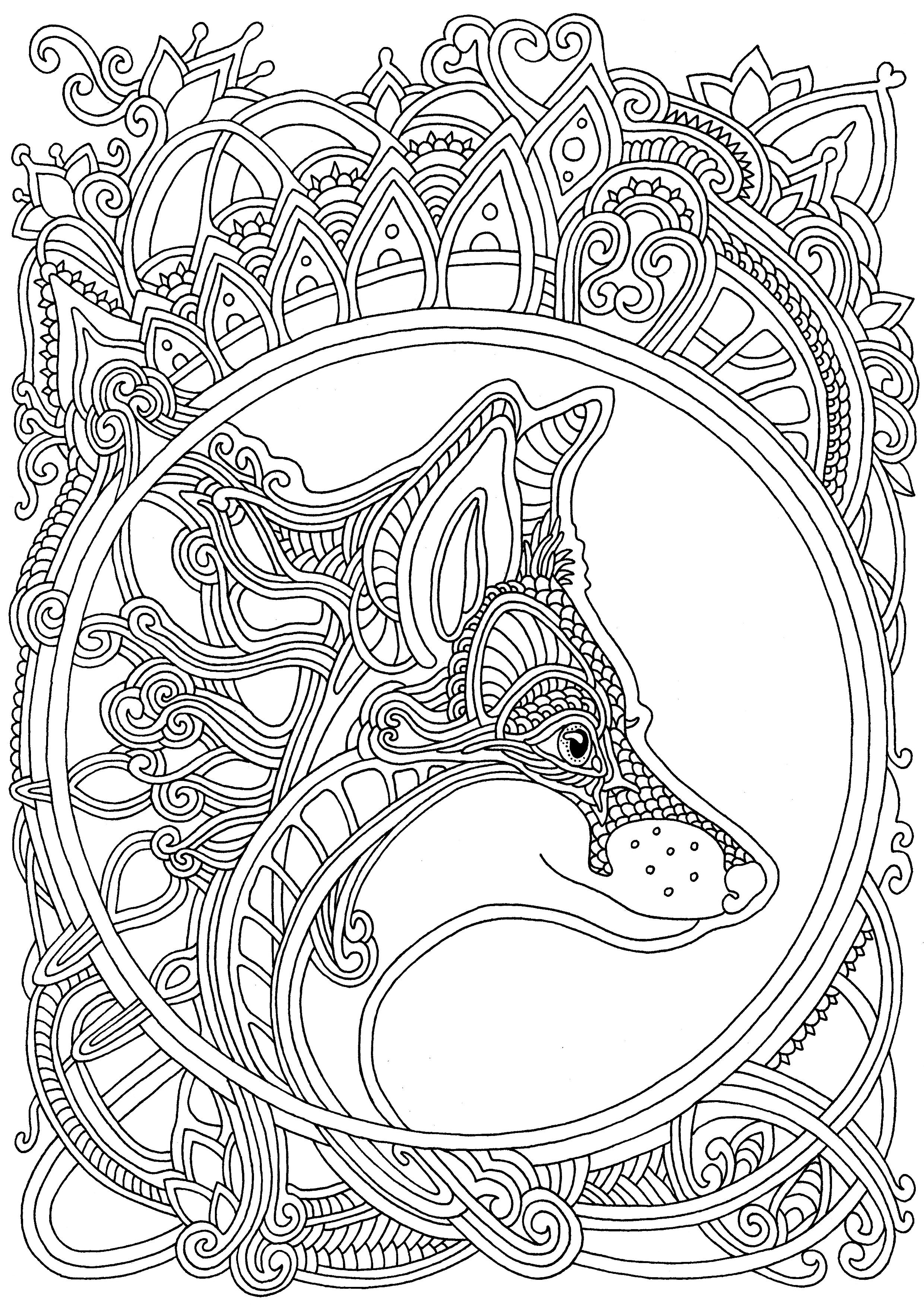 Узоры и цветы креативная книга раскраска скачать