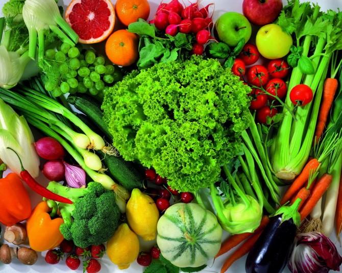 5 овощи