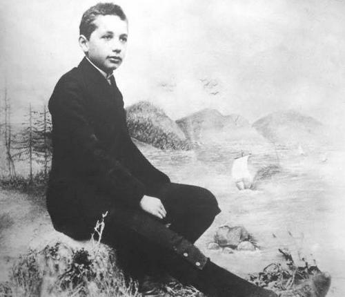 Альберту Энштейну 14 лет