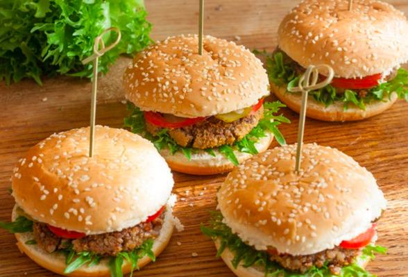 полезные гамбургеры
