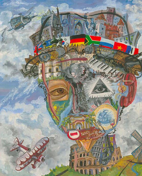 Рита Галкина (15 лет): «Господин Человечество, или вера в мировой космополитизм», - источник.