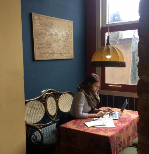 Тбилиси, Грузия, Продюсер книг в МИФ