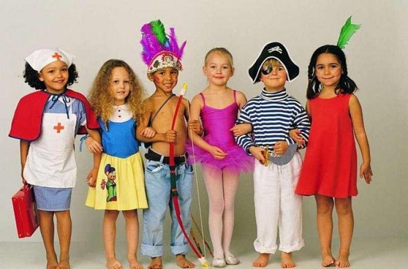 Дети разных стран