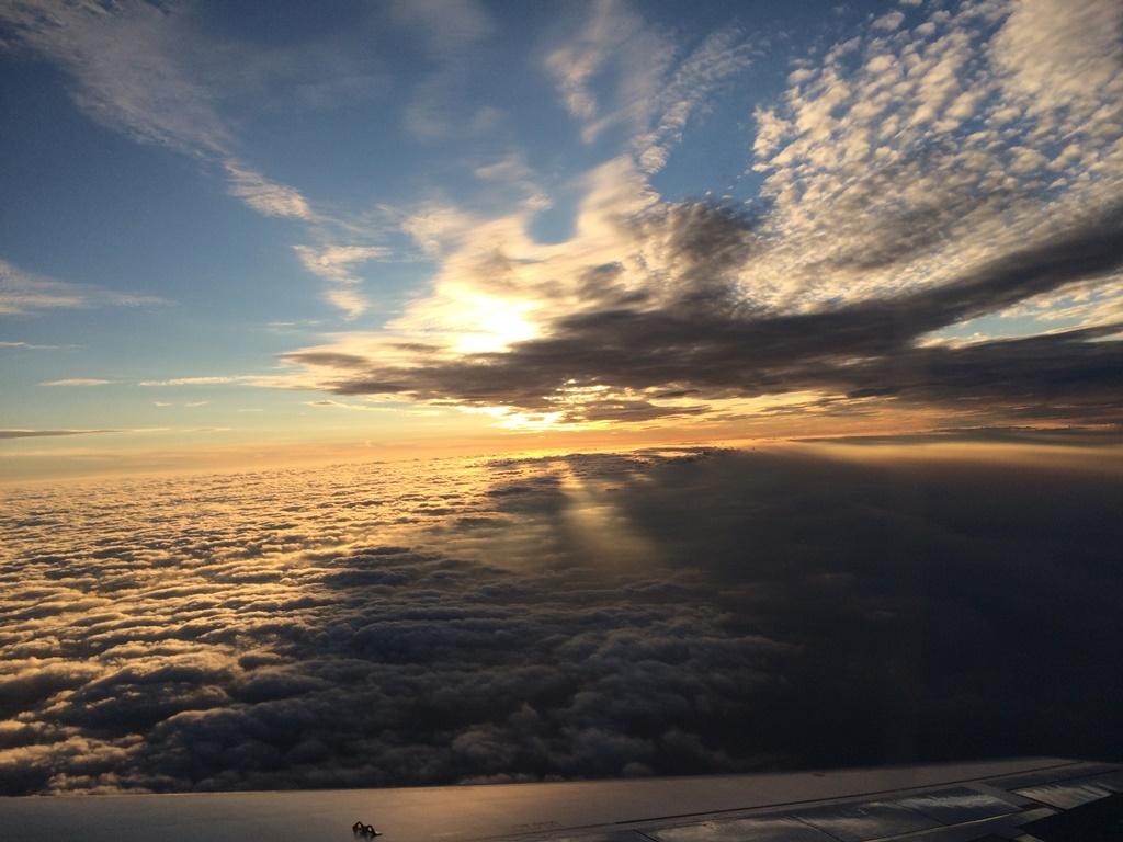 В небе над Европой