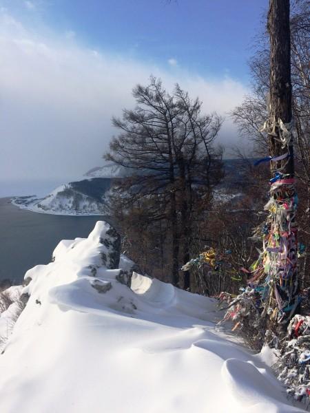 Прекрасный зимний Байкал