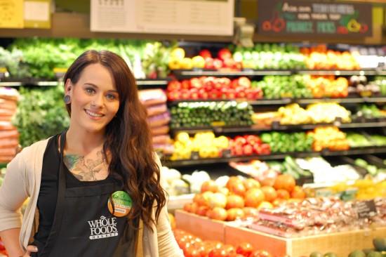 whole foods worker