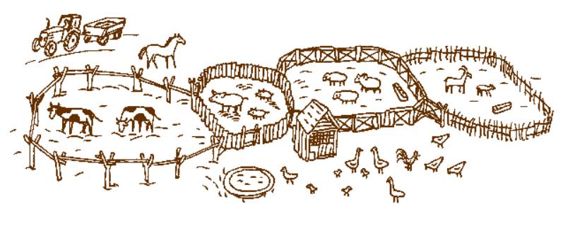Игрушечная ферма