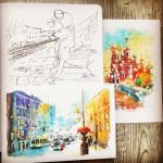 Как рисовать акварелью: 11 советов от художников