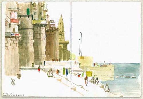 «Мне нравится головокружительная свобода в отсутствие сетки контуров». Энрике Флорес, — Иллюстрация из книги «Артбук»