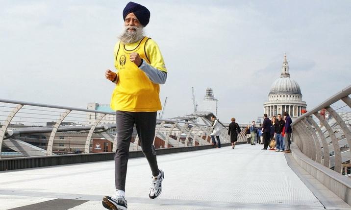 Фауджа Сингх: история 105-летнего марафонца