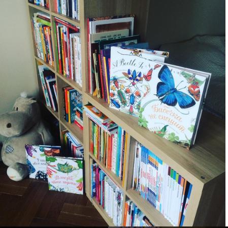 Немного детских книг.
