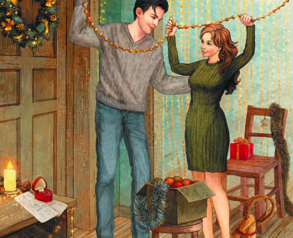 Иллюстрация из «Книги Нового года и Рождества. Наши дни»