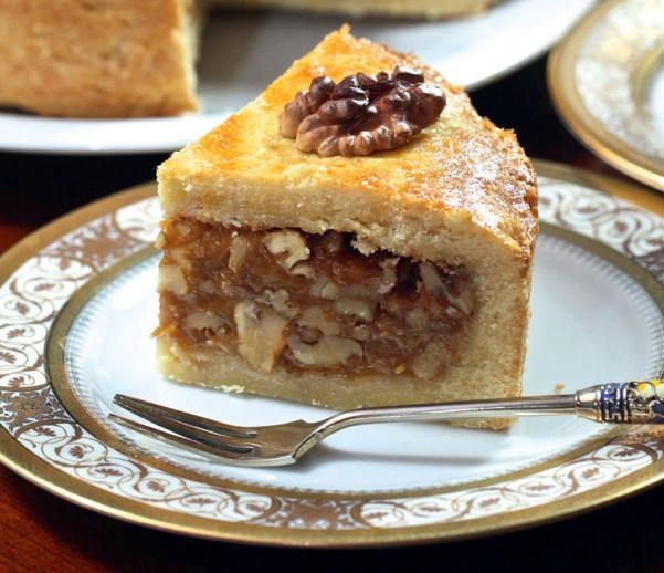 энгадинский ореховый пирог
