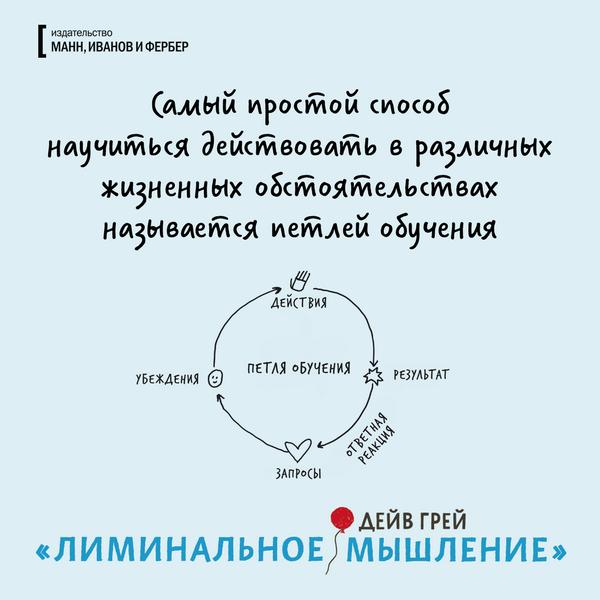 Самый простой способ научиться действовать в различных жизненных обстоятельствах называется петлей обучения