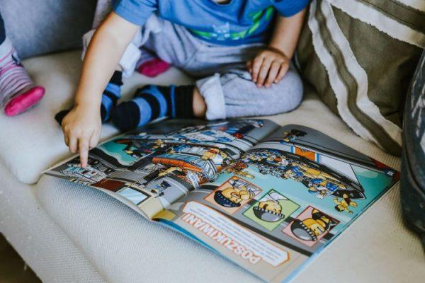Комиксы мотивируют учиться читать маленьких детей