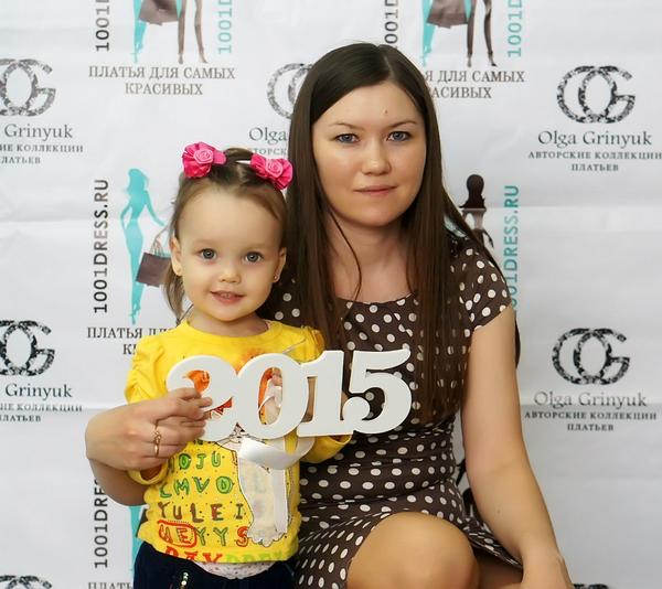Зульфия с дочерью на открытии магазина. Фото из личного архива
