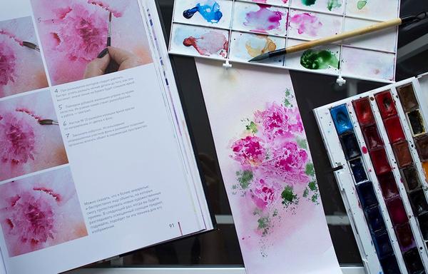 Сделайте творческий процесс приятным с того момента, как вы берете кисть, и чаще поглядывайте на палитру, полную восхитительных оттенков.