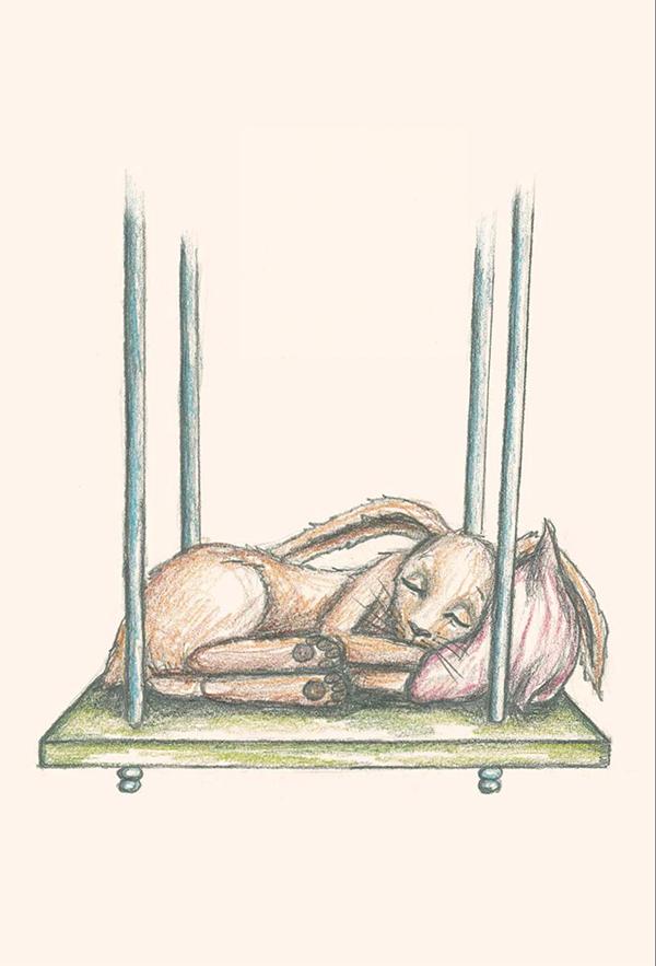 Собери все мысли, которые крутятся в голове и мешают уснуть, и убери их в коробочку под кроватью