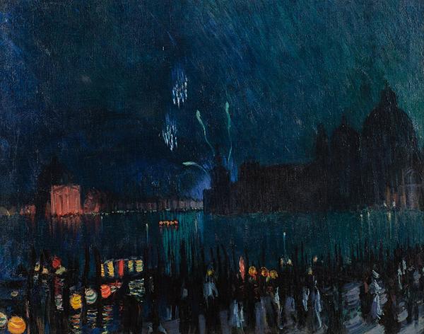 Борис Кустодиев. Венеция (1913)