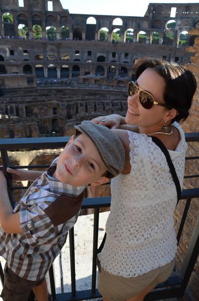 Кристина с сыном Гришей. Фото из личного архива