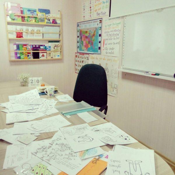 Рабочий кабинет Анны