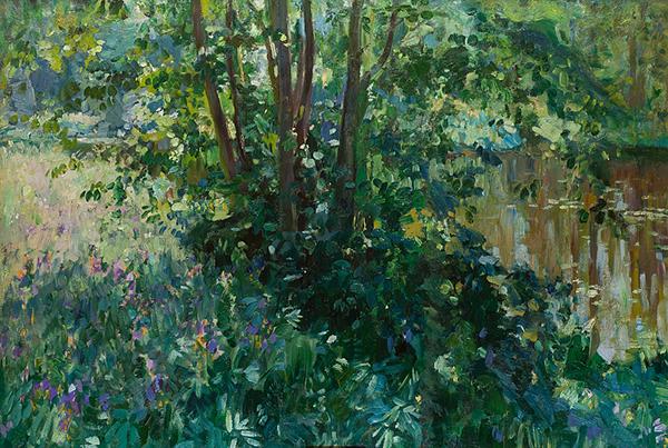 Николай Клодт. Заросший пруд (1910)