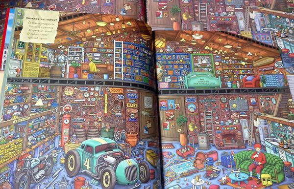 800 стикеров, книга-игра с лабиринтами и находилками, или Новые приключения детектива Пьера