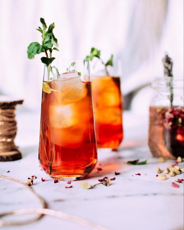 Красный летний чай