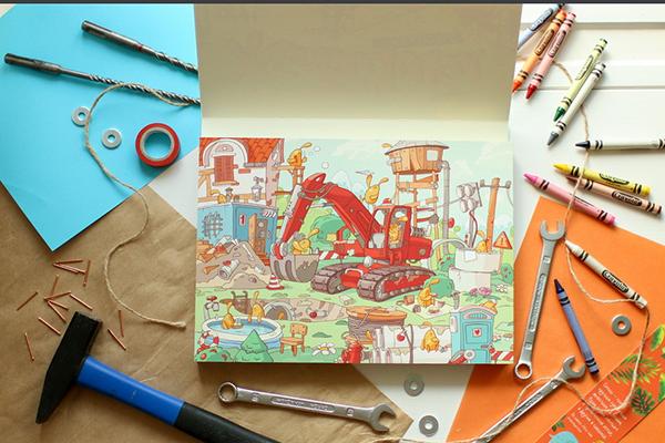 Чем прекрасен виммельбух: книги-картинки для развития воображения