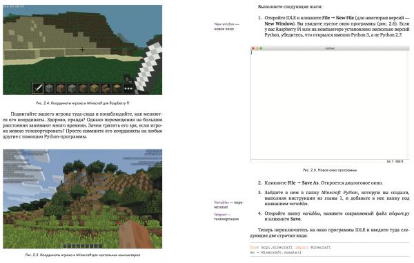 Программировать по Minecraft можно на разных языках. Python — довольно простой, лаконичный язык, который можно взять за основу для изучения программирования вообще. В нем есть все, что нужно для этого.