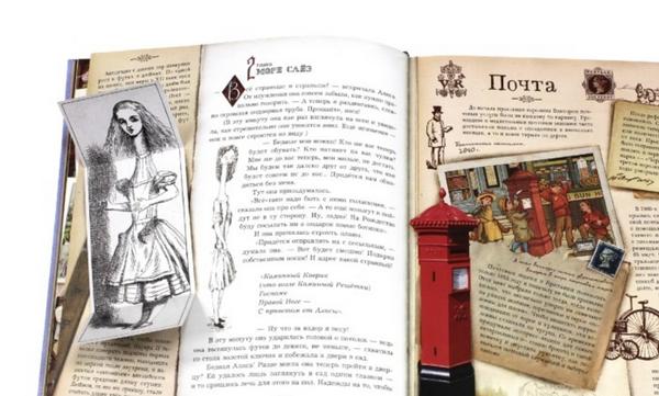 По мотивам «Приключений Алисы в Стране чудес» Льюиса Кэрролла был создан комикс в твердом переплете