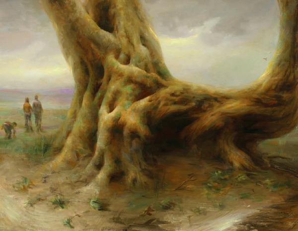 Живопись до мурашек, или Учимся классике у современной художницы
